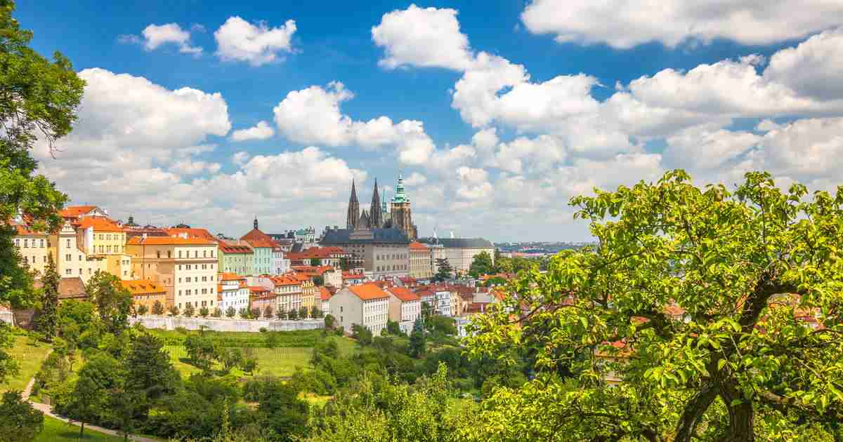 10 Parks im Zentrum von Prag