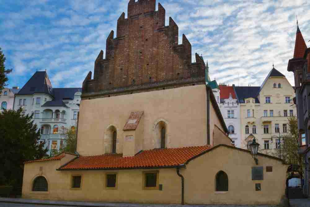 Alt-Neu Synagoge in Prague