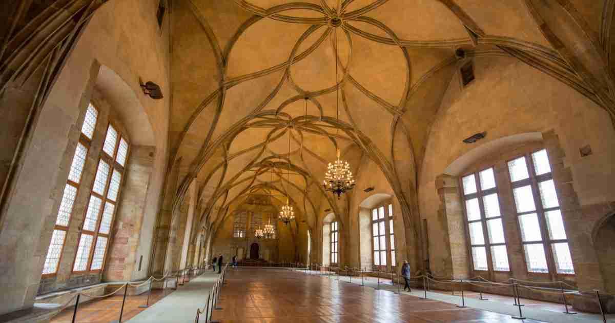 Alter Königspalast in Prague