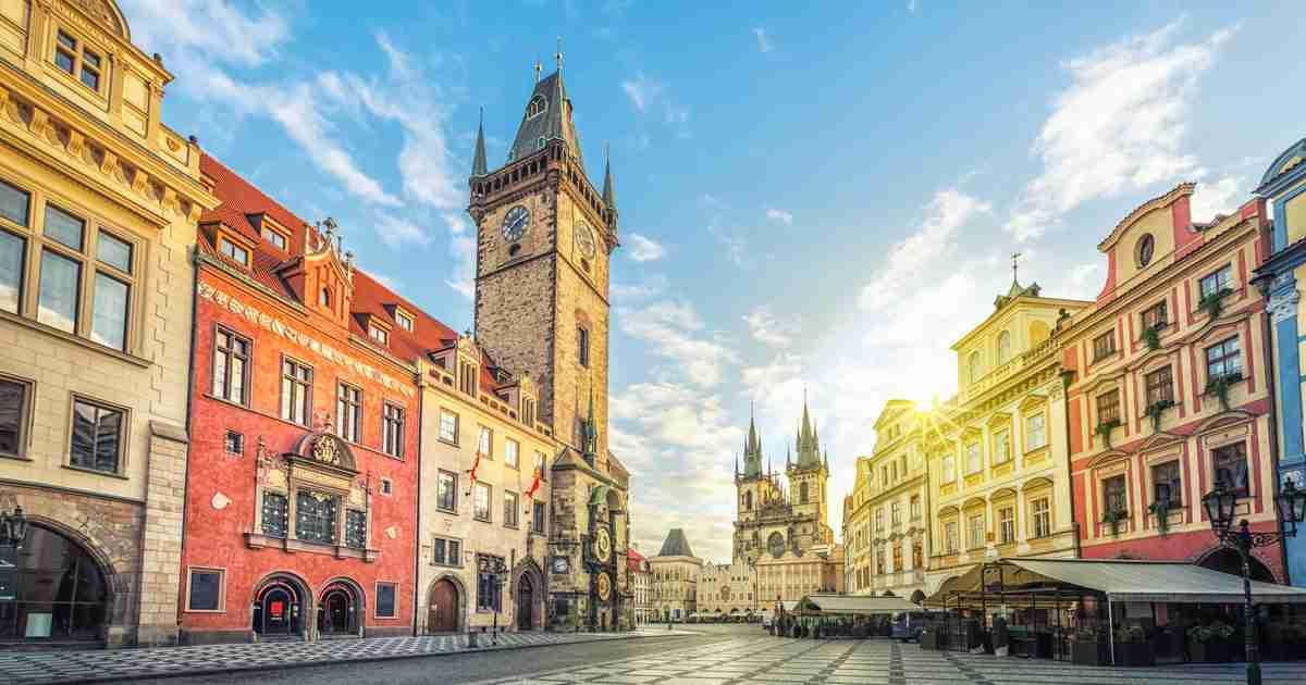 Altstädter Rathaus in Prague