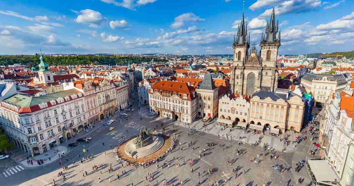 Altstädter Ring in Prague