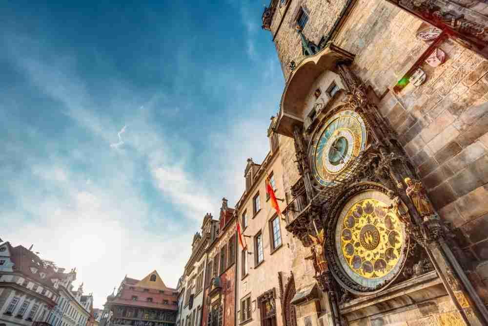 Astronomische Uhr in Prague