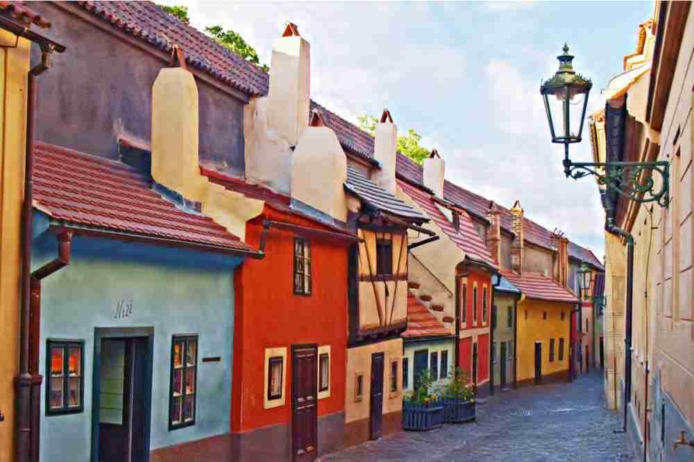 Ausstellungen in der Prager Burg, Prague, Czech Republic