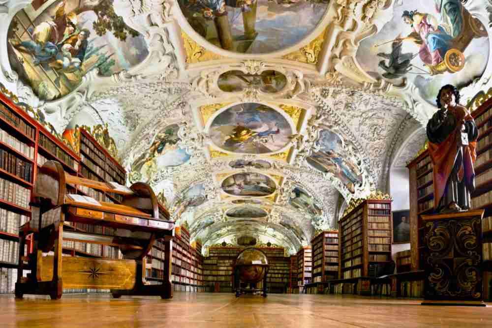 Bibliothek, Strahov Kloster, Prague