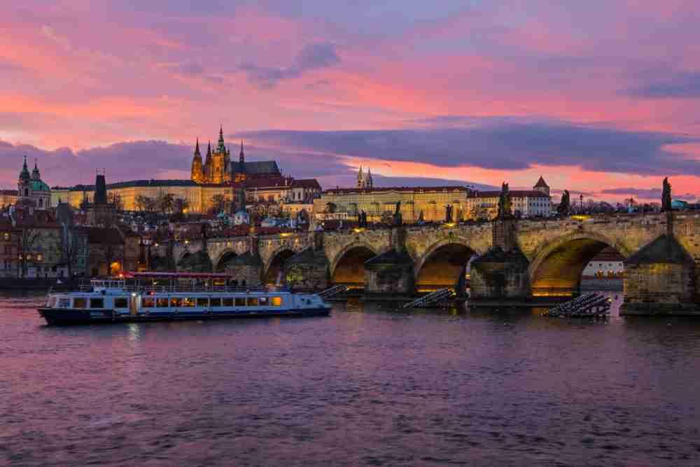 Dinner Cruise, Prague, Czech Republic