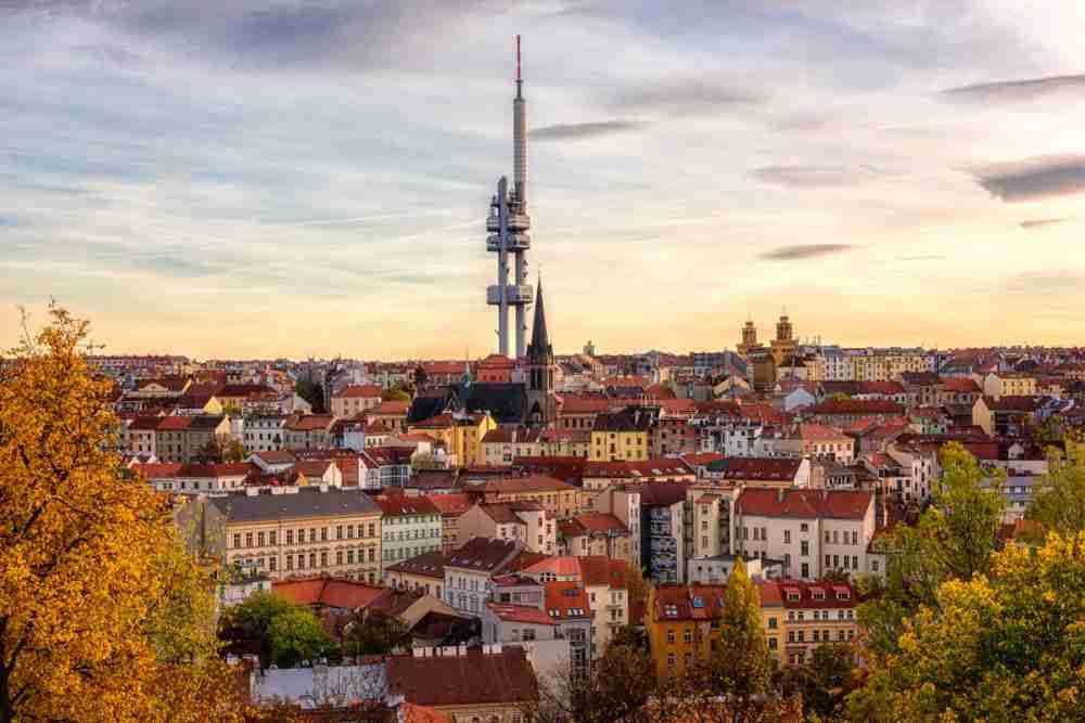 Fernsehturm Zizkov, Prague, Czech Republic