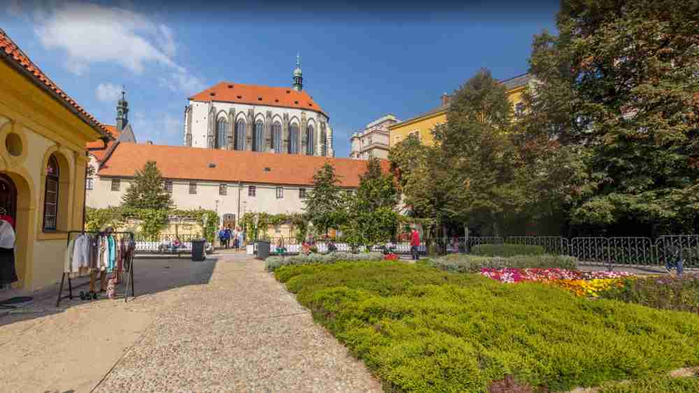 Franziskanergarten in Prague