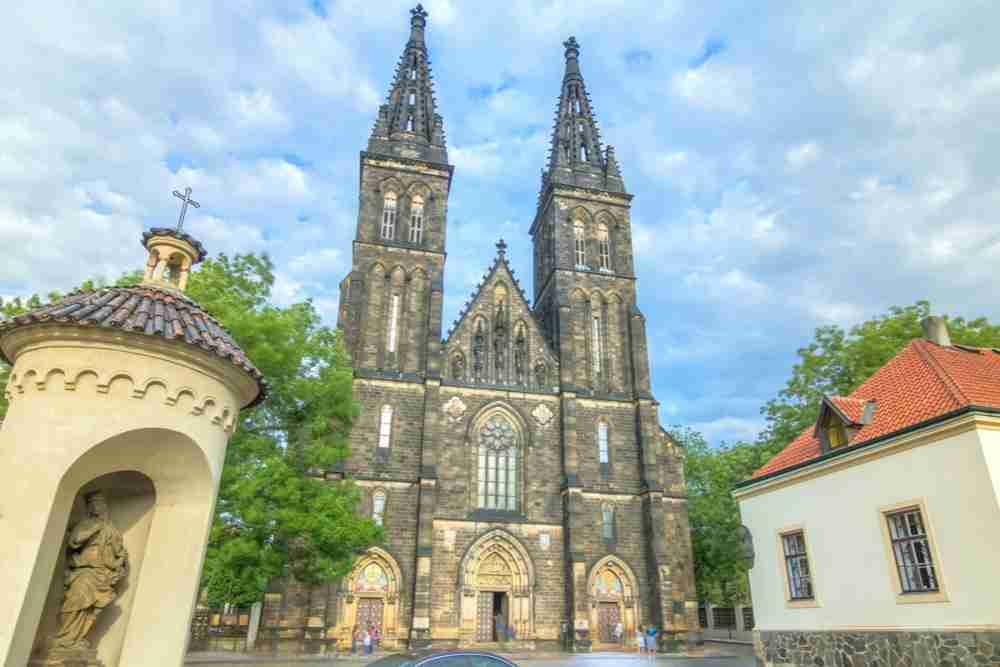 Geschichte Vysehrad in Prague