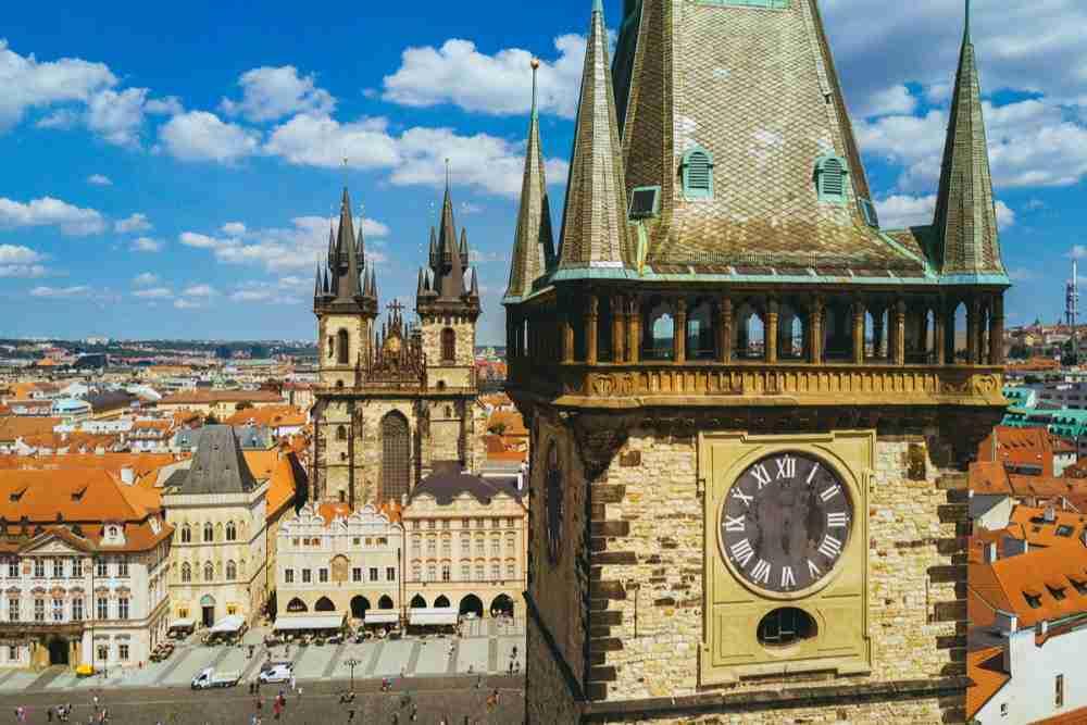 Geschichte des Altstädter Rathaus in Prague