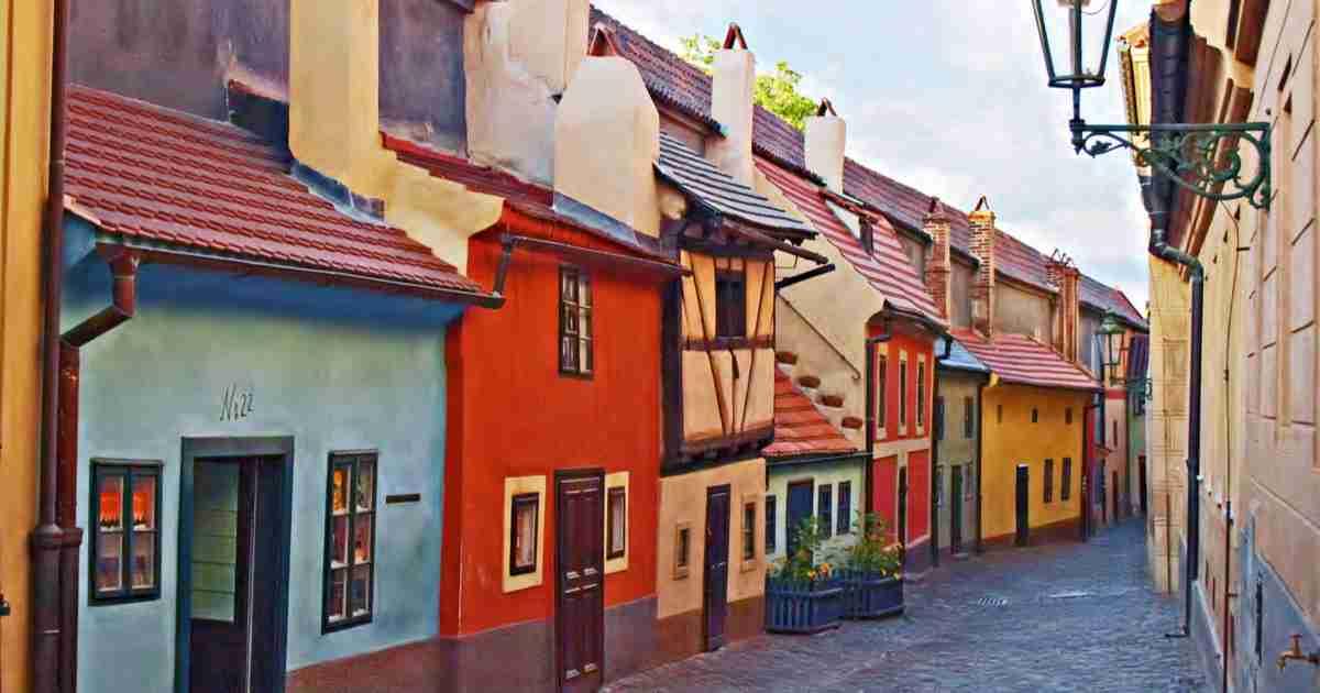 Goldenes Gässchen in Prague