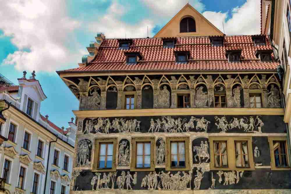 Haus zur Minute (Wohnhaus von Franz Kafka)