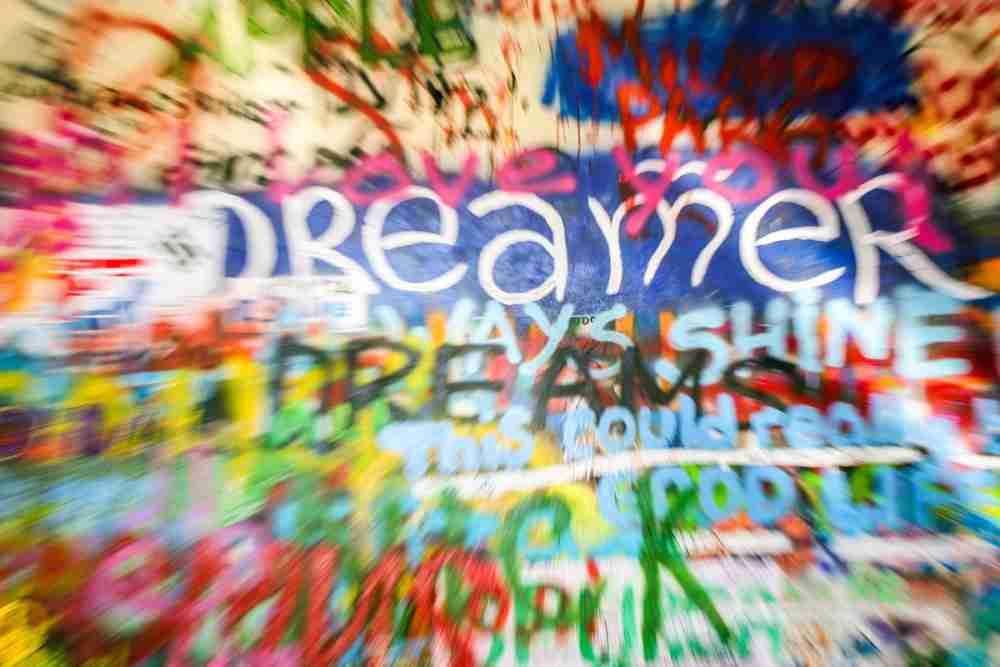 History of the John Lennon Wall, Prague