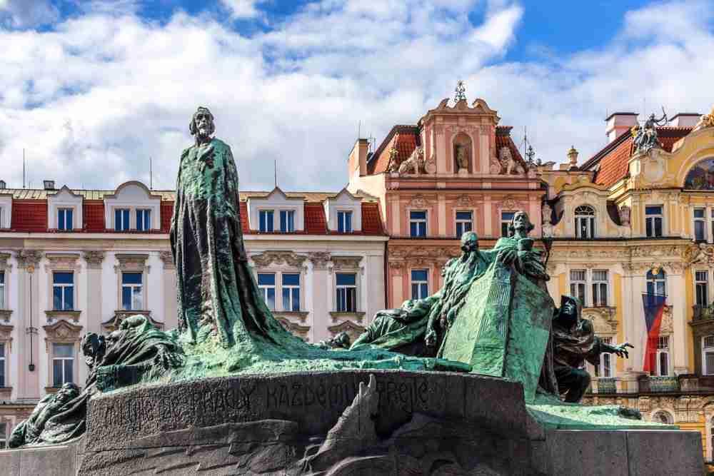 Jan Hus Denkmal in Prague