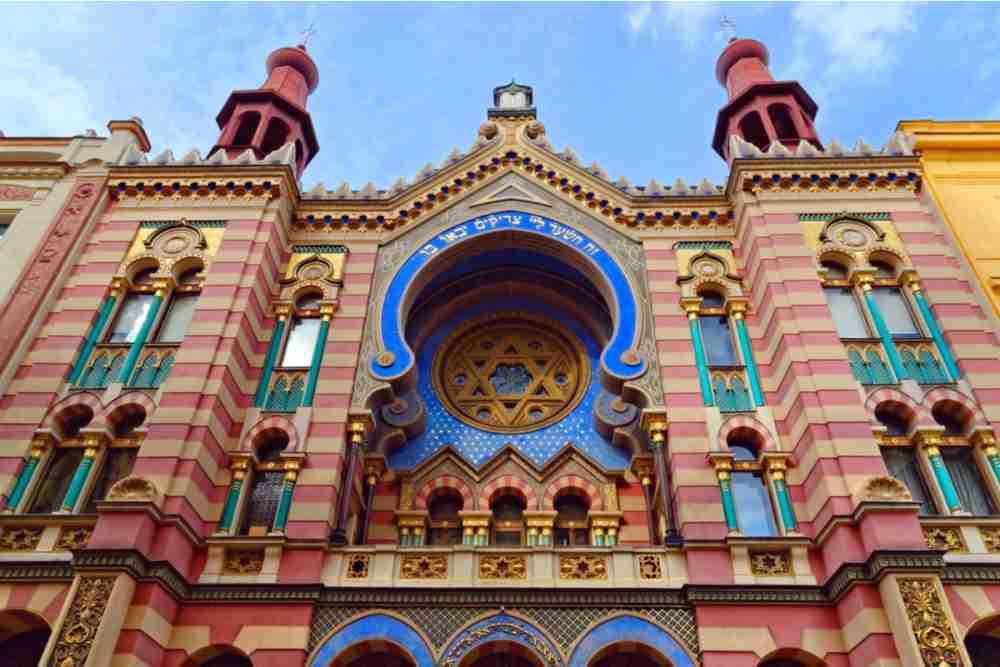 Jerusalem Synagoge in Prague
