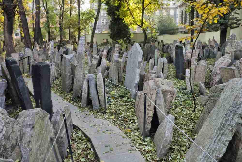 Jüdischer Friedhof in Prague