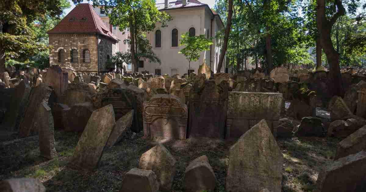 Jüdisches Viertel in Prague