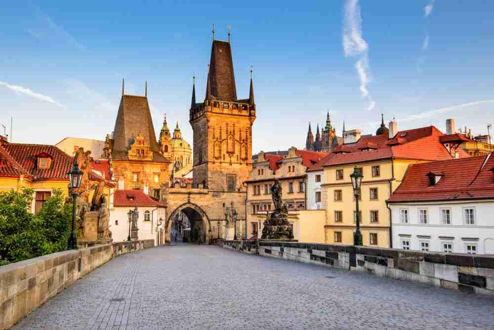 Kleinseitner Brückenturm, Prague, Czech Republic