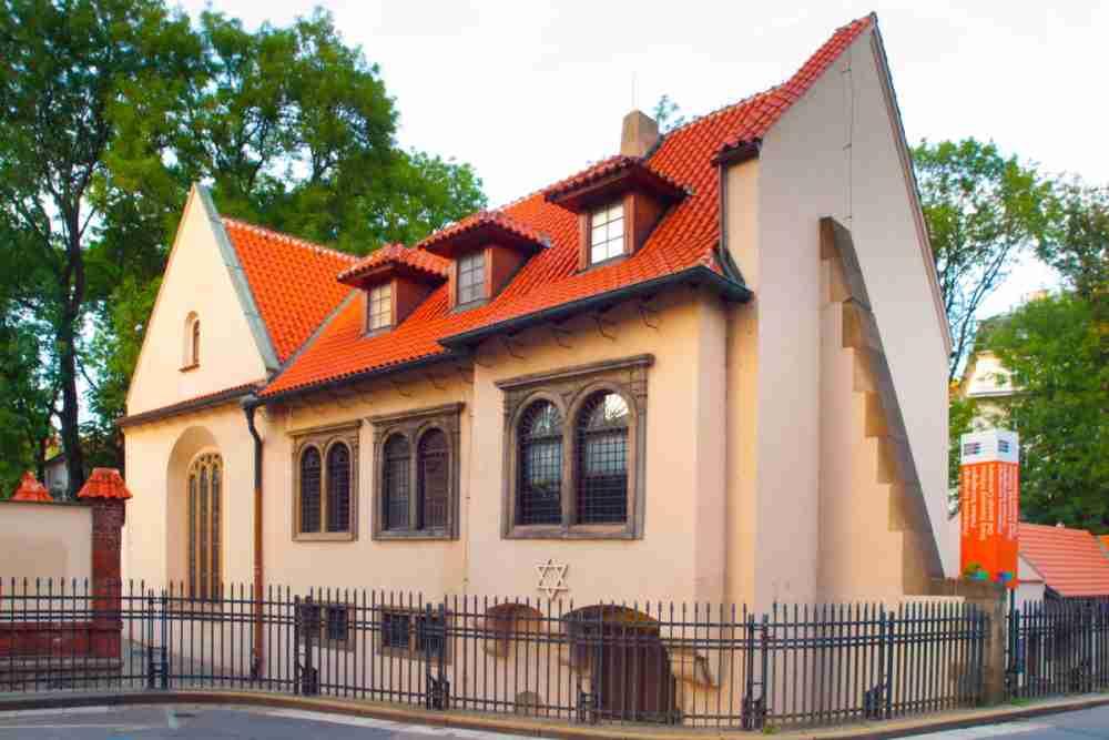 Pinkas Synagoge in Prague