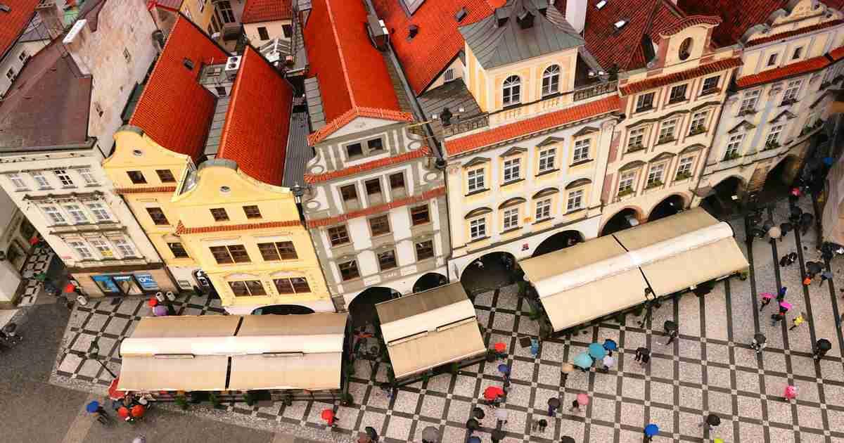 Prag bei Regen 20 Schlechtwetter-Aktivitäten