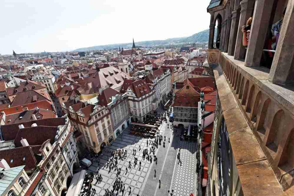 Rathaus und Rathausturm in Prague