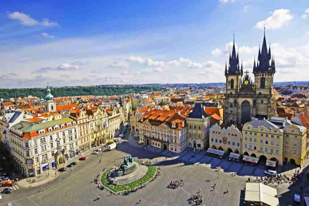 Rathausturm, Prague, Czech Republic