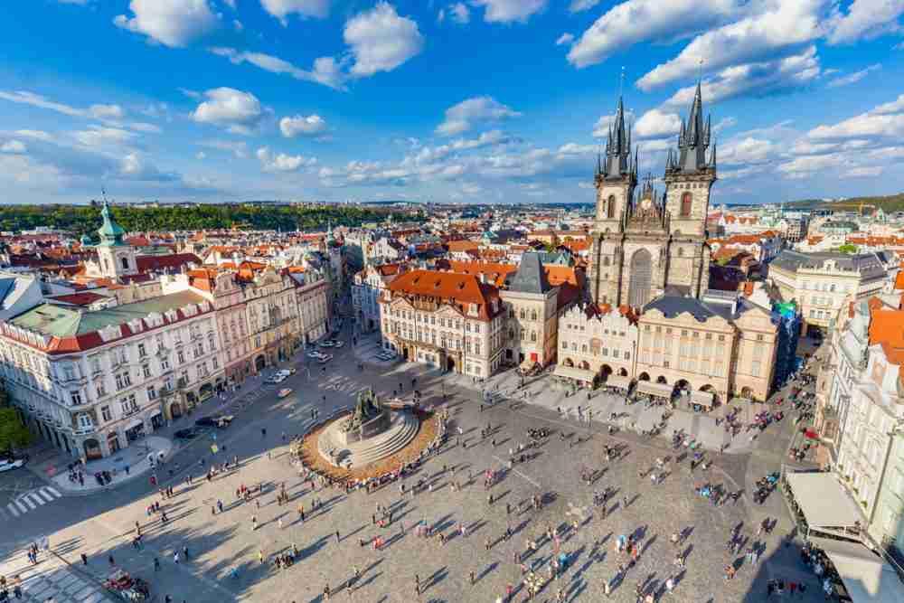 Stadtrundfahrt, Prague, Czech Republic