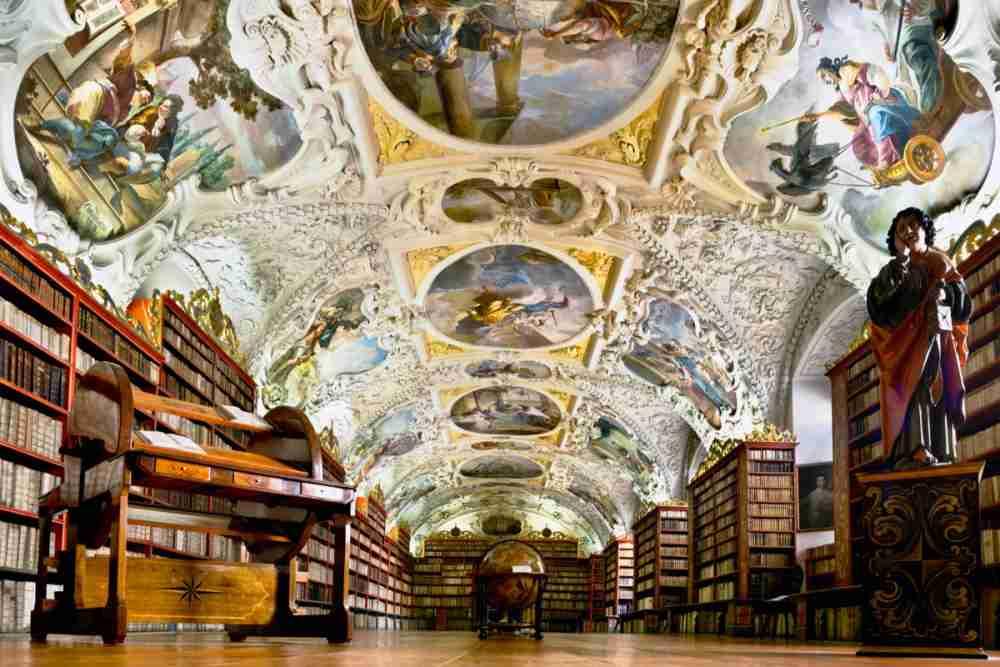 Strahov Kloster in Prague