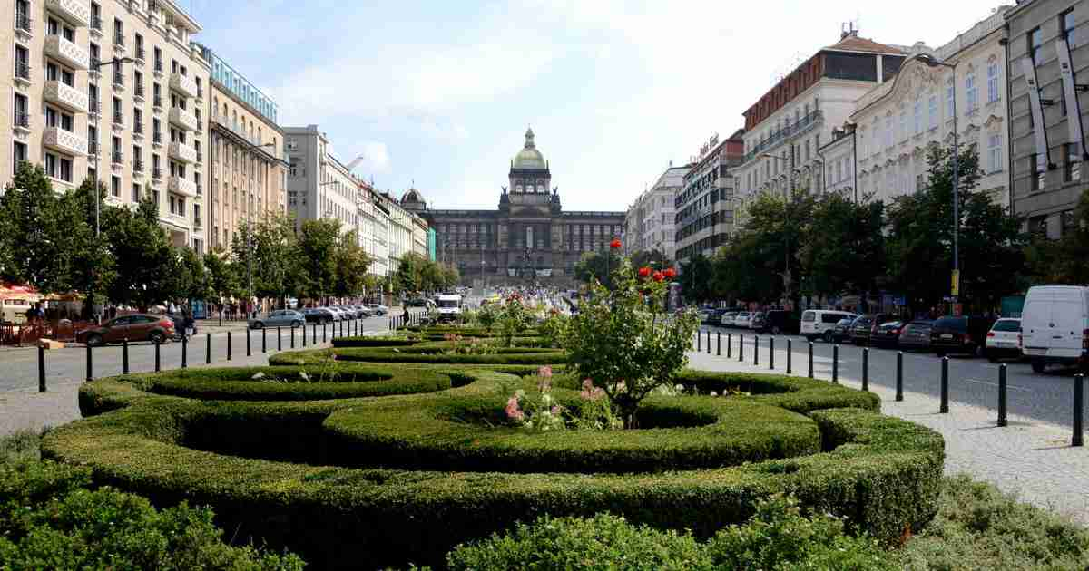 Wenzelsplatz in Prague