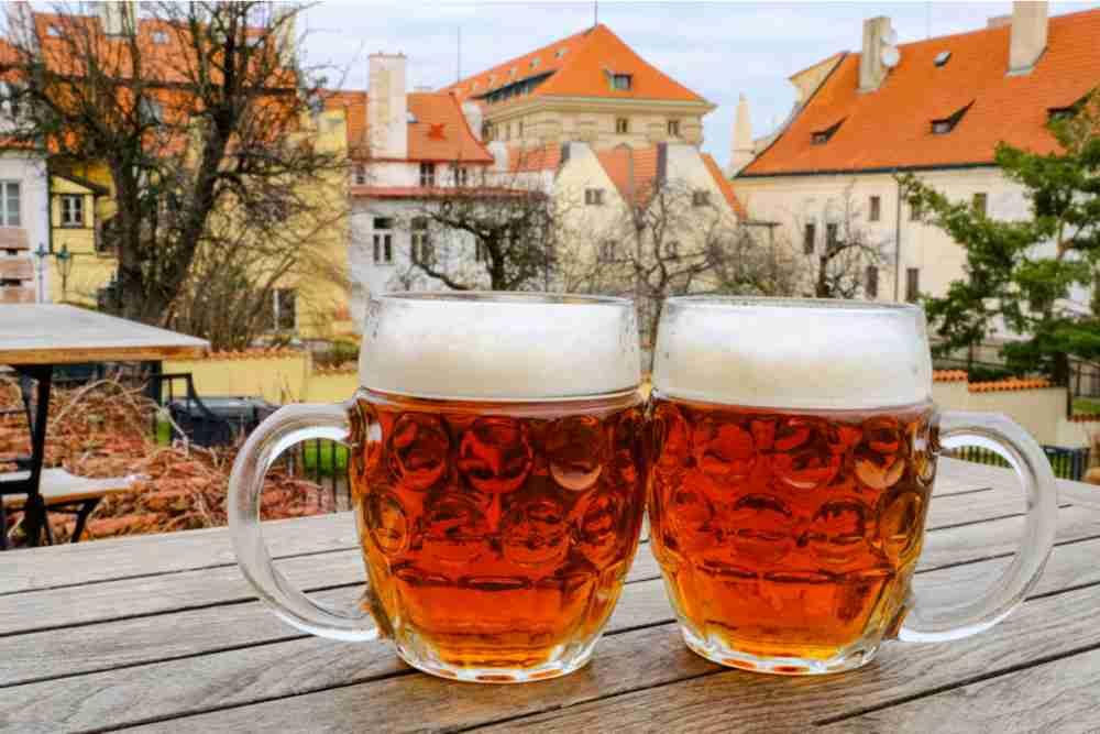 Bier, Prague