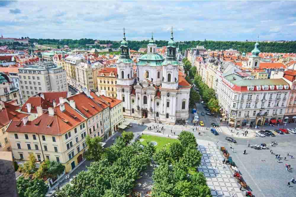 Die Pariser Strasse in Prague