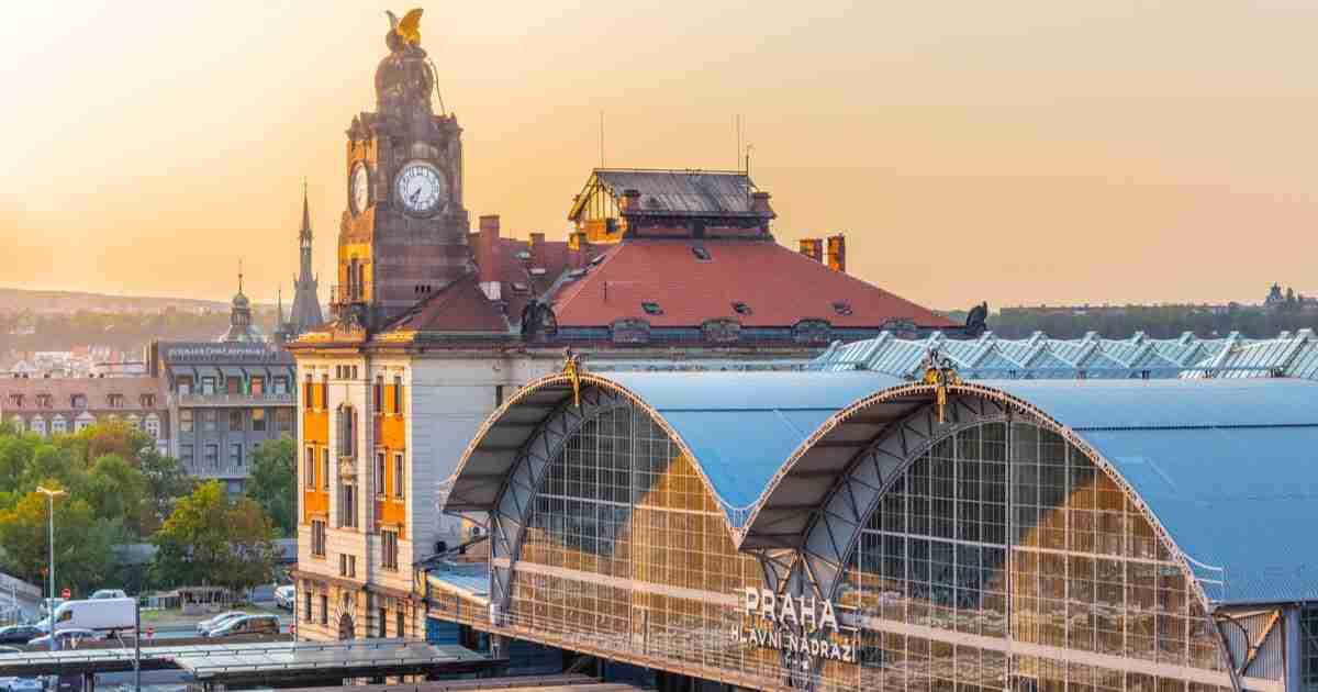 Guide zum Hauptbahnhof Prag