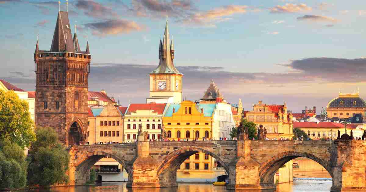 Karlsbrücke in Prague