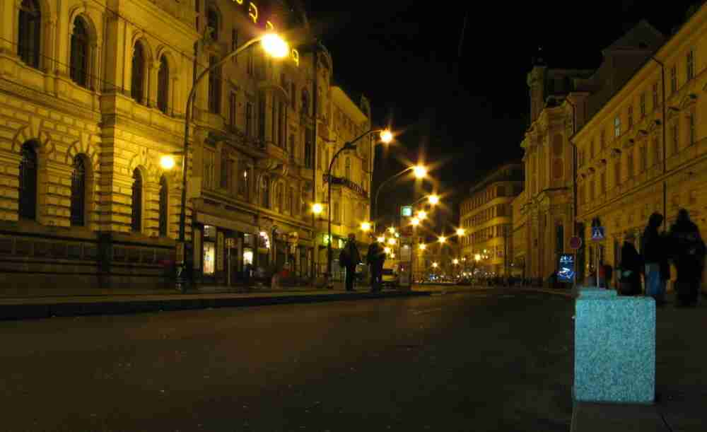 Narodní Trida Prague