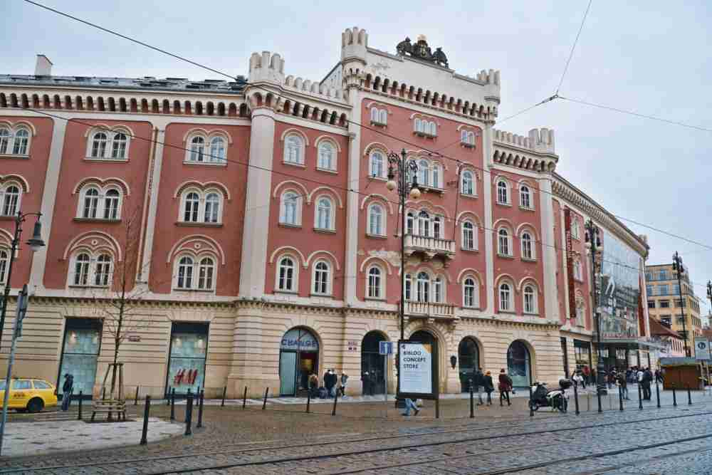 Palladium in Prague