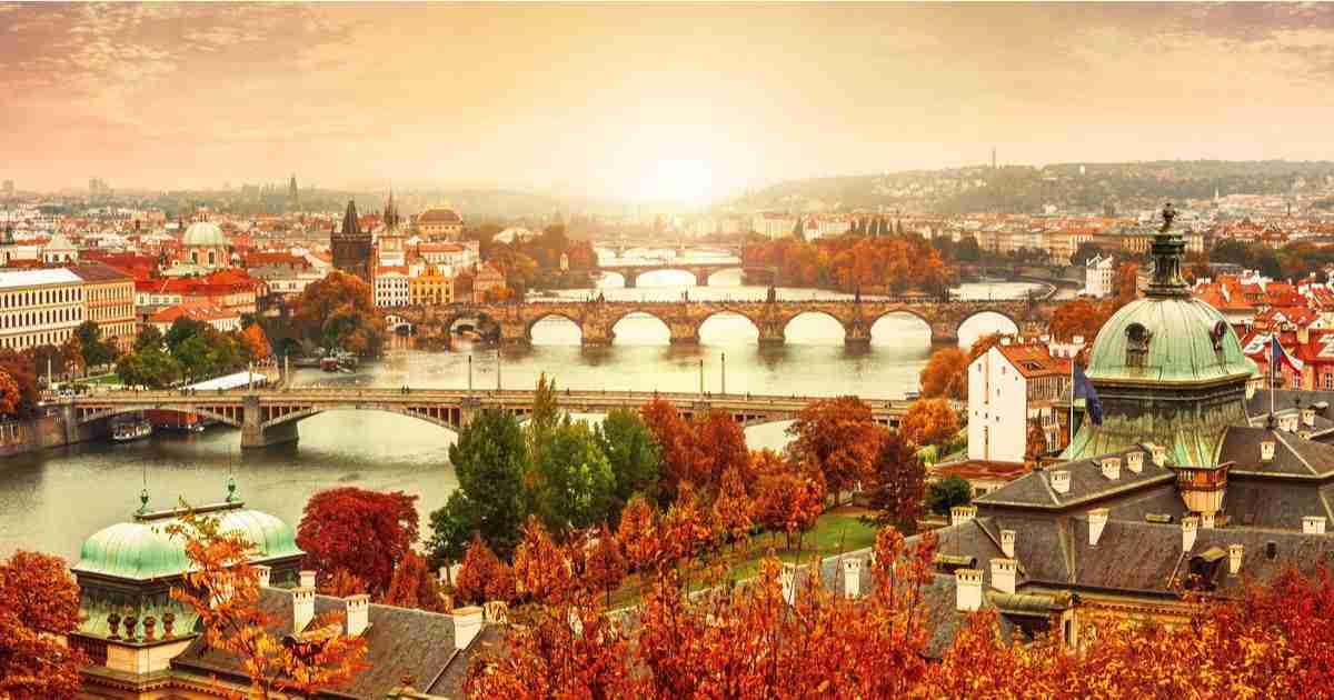 Plane eine Reise nach Prag