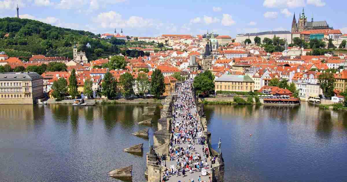 Geschichte der Karlbrücke in Prague